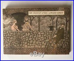 Edward Gorey The Broken Spoke 1st Edition SIGNED BY EDWARD GOREY RARE