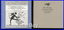 Edward Gorey. The Fantod Works. Zurich Diogenes. Signed first edition, complete