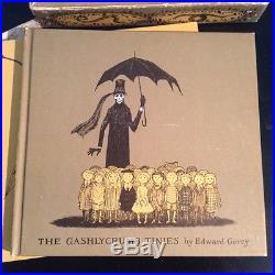 Edward Gorey The Vinegar Works 1963 First Edition Signed Gashlycrumb Tinies