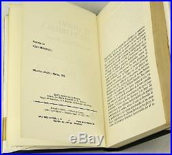 El otoño del patriarca by GABRIEL GARCIA MARQUEZ SIGNED First Edition 1975 1st