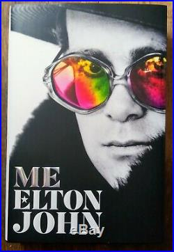 Elton John Autographed Hand Signed Me Book Hardcover First Edition 2019