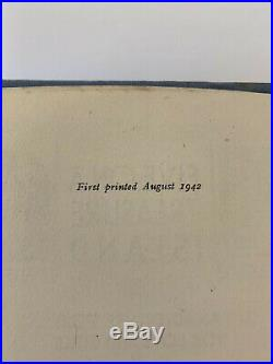 Enid Blyton Five on a Treasure Island First UK Edition 1942 SIGNED 1st