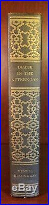 Ernest Hemingway SIGNED Death in the Afternoon 1932 First Edition 1st Printing