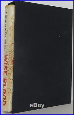 FLANNERY O'CONNOR Wise Blood INSCRIBED FIRST EDITION