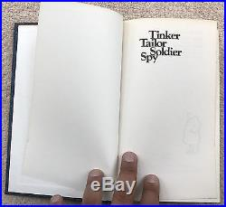 FLAT SIGNED John Le Carre Tinker Tailor Solider Spy First Edition