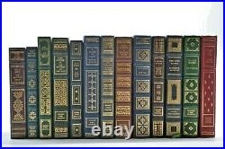 FRANKLIN MINT LEATHER BOOK SIGNED 1st Edition, Lot of 13 Volumes (books)