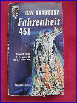 Fahrenheit 451 Signed By Ray Bradbury True First Edition First Printing 1953