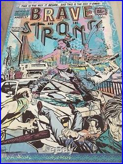 Faile Brave and the Strong Signed Numbered Stamped Limited First Edition Rare