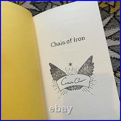 FairyLoot Signed Chain of Gold / Iron by Cassandra Clare Exclusive Editions 1st