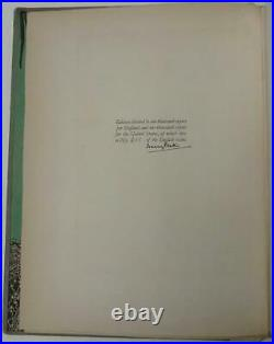 Faust by Goethe (Limited Edition) First U. S. Harry Clarke Edition Signed