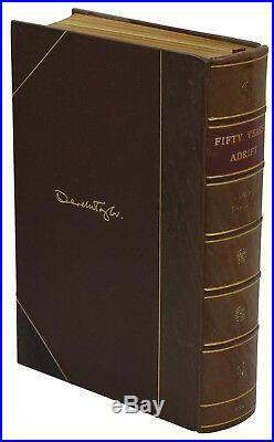 Fifty Years Adrift SIGNED by GEORGE HARRISON Limited First Edition Beatles