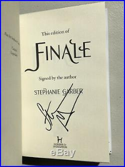 Finale Signed 1st/1st Fairyloot Exclusive Edition by Stephanie Garber