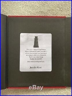 First Edition Babadook Pop-Up Book -Brand New- Signed by director Jennifer Kent