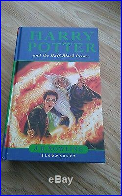 First Edition Harry Potter And The Half Blood Prince, Signed By JK Rowling, 2005