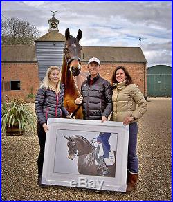 First Edition Nip Tuck Print signed by Carl Hester MBE & owner of Nip Tuck