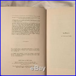 First Edition SIGNED Tennessee Williams Book The Rose Tattoo