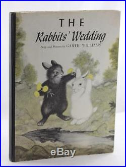 First Edition Signed 1960 The Rabbit's Wedding Garth Williams Banned Book