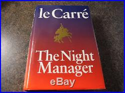 First Edition Signed The Night Manager by John Le Carre (Hardback, 1993)
