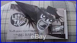 First Edition The Babadook Pop-Up Book Signed by Director Jennifer Kent