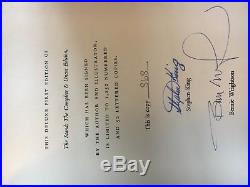 First edition signed The Stand by Stephen King