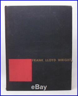 Frank Lloyd Wright SIGNED The Story of the Tower First Edition Hardcover 1956