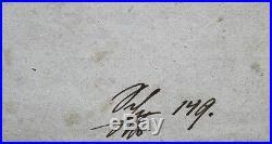 Franz SCHUBERT (Composer) SIGNED FIRST EDITION Erlkönig