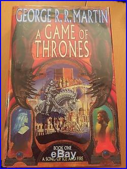 Game Of Thrones 1/1 First Edition Song Of Ice & Fire Signed