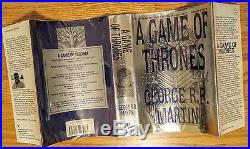 Game of Thrones Set First Edition 1st/1st George Martin VG/NF Clash of Kings