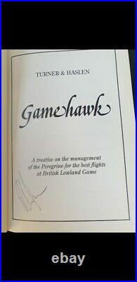 Gamehawk By Ray Turner & Halsen 1st Edition signed Good condition Falconry book