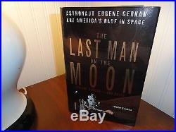 Gene Cernan Signed Book First Edition First printing Apollo 17