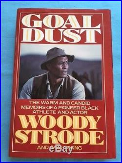 Goal Dust First Edition Signed By Woody Strode