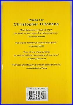 God Is Not Great First Edition'07 Signed Autographed by Christopher Hitchens NM