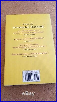God is Not Great Christopher Hitchens First Edition Signed Rare Book NM