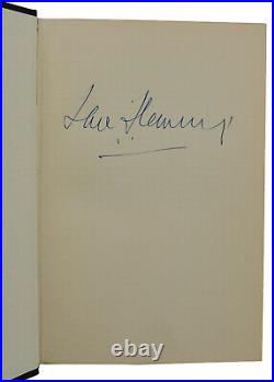 Goldfinger SIGNED by IAN FLEMING First Edition 1st Print 1959 James Bond 007