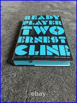 Goldsboro Ready Player One Two Signed Sprayed Edges First Edition Ernest Cline