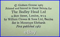 Graham Greene May We Borrow Your Husband First UK Edition 1967 SIGNED