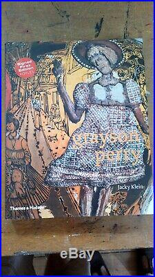 Grayson Perry signed first edition Thames and Hudson book hardback new condition