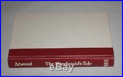 HANDMAID'S TALE SIGNED Margaret Atwood 1st/2nd Edition True First Edition