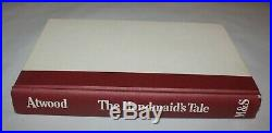 HANDMAID'S TALE SIGNED Margaret Atwood a 1st/1st True First Edition