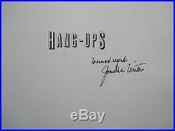 HANG-UPS SIGNED by JONATHAN WINTERS His Paintings First Edition