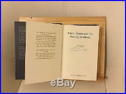 HARRY POTTER & THE DEATHLY HALLOWS, ADULT FIRST EDITION! J. K. ROWLING, SIGNED, RARE