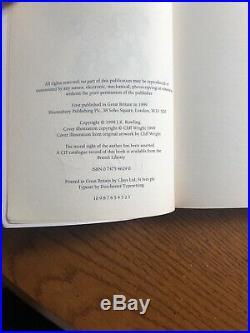 HARRY POTTER & THE PRISONER OF AZKABAN Signed JkRowling 1st FIRST EDITION PB