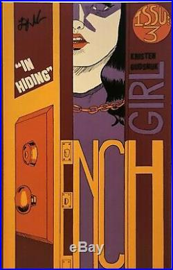 HENCHGIRL #1 #2 #3 #4 VF One-of-a-Kind RARE FIRST EDITIONS Low Print SIGNED LOT