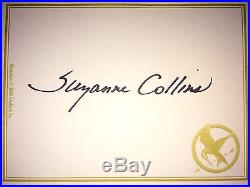 HUNGER GAMES 3 VOLUMEs BY SUZANNE COLLINS SIGNEDFIRST EDITION withauction