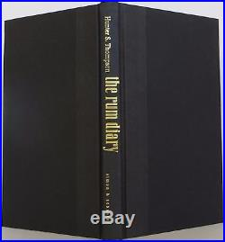 HUNTER S. THOMPSON The Rum Diary INSCRIBED FIRST EDITION
