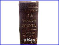 Hand Signed First Edition Of The Narrow Corner Book By W Somerset Maugham AFTAL