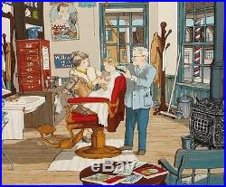 Hargrove First Haircut Limited Edition Painting Valued At $2000.00