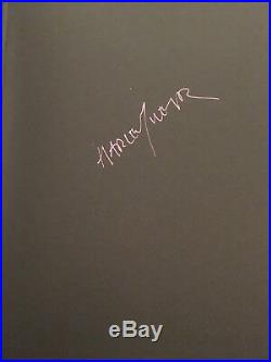 Harley Weir Function Signed Copy First Edition Photography Book NEW