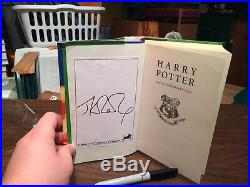 Harry Potter And The Half Blood Prince First Edition SIGNED BOOKPLATE JK ROWLING