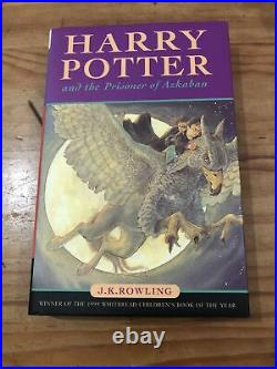 Harry Potter And The Philosopher's Stone 1st Edition Plus Set Of 4, All Signed